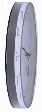 Falióra, 25 cm, ALBA Classic, áttetsző szürke