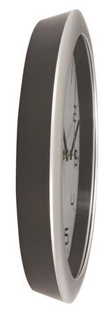 Falióra, 30 cm, ALBA Hornew, ezüst