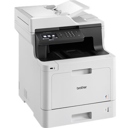 Nyomtató, lézer, színes, multifunkciós, duplex, hálózat, wireless, fax, BROTHER MFC-L8690CDW