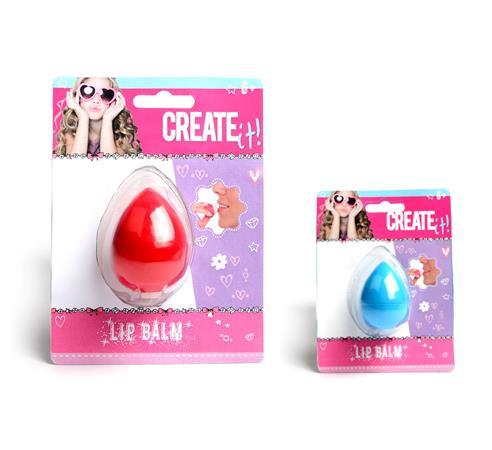 Ajakbalzsam, tojás formájú, CANENCO Create-It!, vegyes színek