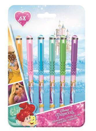 Zseléstoll készlet, 0,8 mm, CANENCO Disney princess, 6 különböző szín