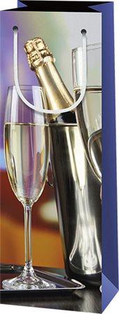 Italos tasak, pezsgőspalack mintával