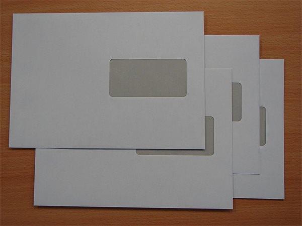 Boríték, LC5, öntapadó, jobb ablakos, EURO