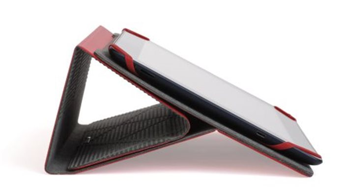 Táblagép tok, univerzális, 7-8, KENSINGTON Portafolio, piros