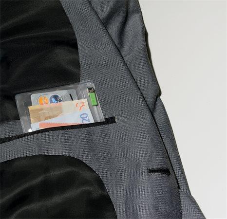 Rendszerező tasak, utazáshoz, XS, cipzáras, LEITZ Complete Zip