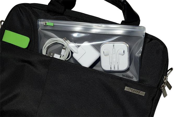 Rendszerező tasak, utazáshoz, S, cipzáras, LEITZ Complete Zip