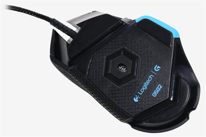 Egér, vezetékes, optikai, USB, gaming, LOGITECH G502 Proteus Spectrum, fekete