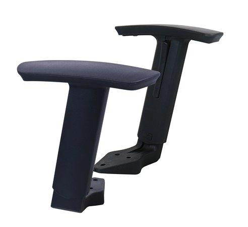karfa irodai székhez, állítható, fekete, MAYAH