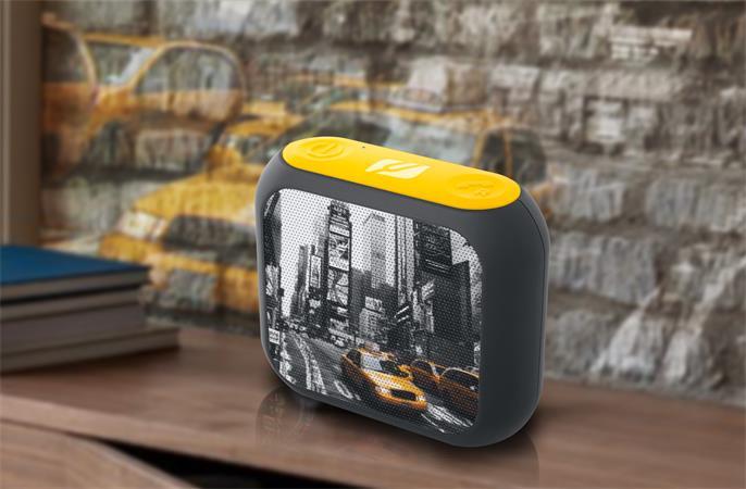 Hangszóró, hordozható, Bluetooth, MUSE M-312, New York