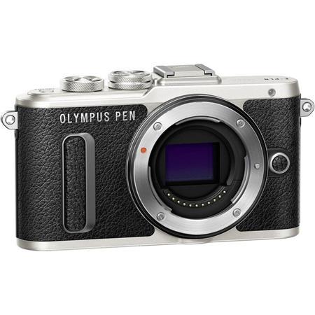 Fényképezőgép, fekete váz, OLYMPUS E-PL8