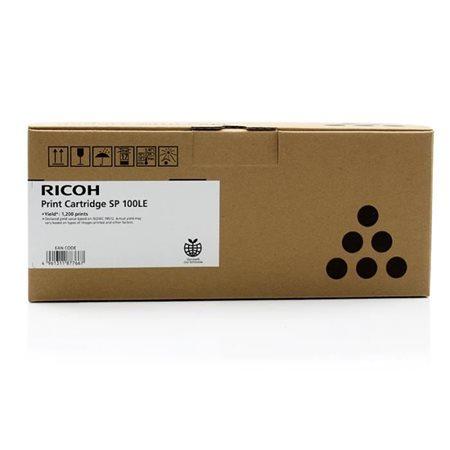407166 Lézertoner SP 100e, SP 112 nyomtatókhoz, RICOH fekete, 1,2K