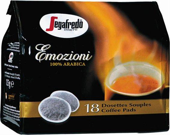 Kávépárna, 18x7 g, SEGAFREDO Emozioni