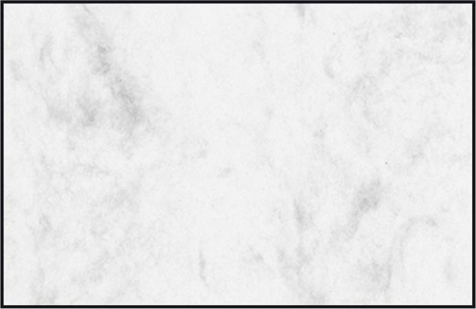 Előnyomott papír, A4, 225g, 85x55mm, SIGEL, szürke, márványos
