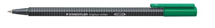 Rollertoll, 0,4 mm, STAEDTLER Triplus, zöld