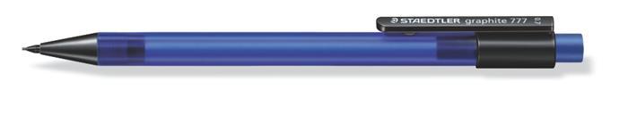 Nyomósirón, 0,7 mm, STAEDTLER Graphite 777, kék