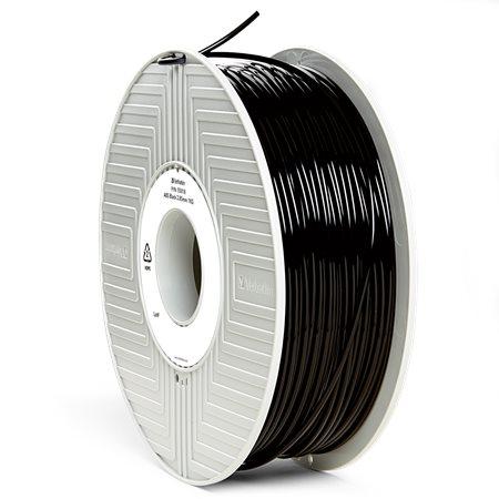 3D nyomtató kellékanyag, ABS 2,85mm, 1kg, VERBATIM, fekete