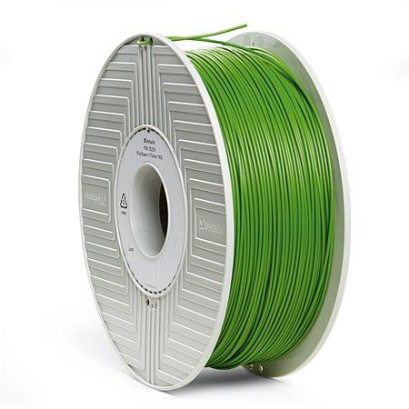 3D nyomtató kellékanyag, PLA 1,75mm, 1kg, VERBATIM, zöld