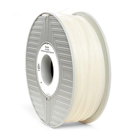 3D nyomtató kellékanyag, PLA 2,85mm, 1kg, VERBATIM, semleges