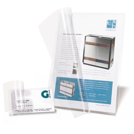 Hideglamináló fólia, A7, 86x117 mm, 3L