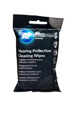 Tisztítókendő, nedves, munkavédelmi fülvédőkhöz, 40 db, AF