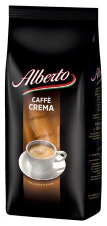 Kávé, pörkölt, szemes, 1000 g, ALBERTO