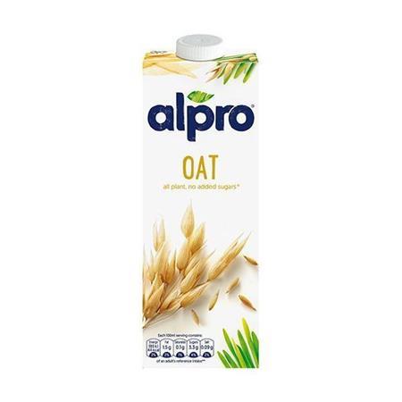 Növényi ital, dobozos, 1 l, ALPRO, zab