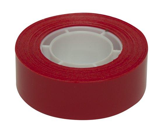Ragasztószalag, 19 mm x 33 m, APLI, piros