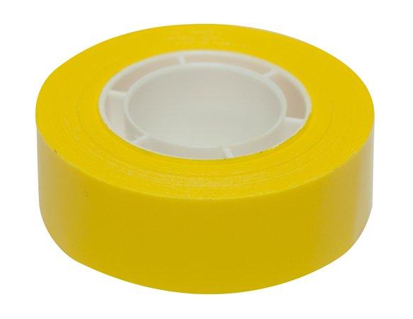 Ragasztószalag, 19 mm x 33 m, APLI, sárga