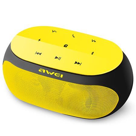 Hangszóró, hordozható, vezeték nélküli, Bluetooth, AWEI