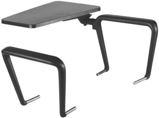 Karfa kihajtható műanyag asztalkával, Felicia székhez, jobb-kezes kivitelben,