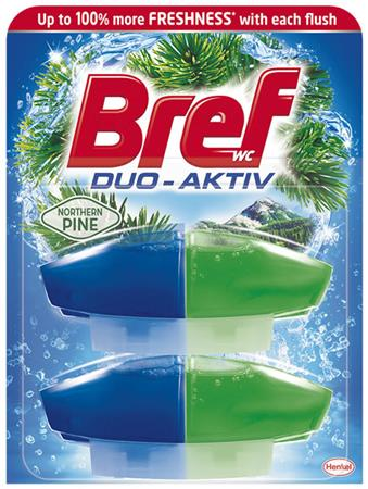 WC illatosító gél utántöltő, 2x50 ml, BREF