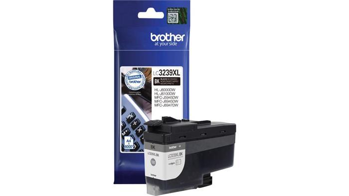 LC3239XLBK Tintapatron HL-J6000DW, MFC-J5945DW, MFC-J6945DW, MFC-J6947DW nyomtatókhoz, BROTHER fekete, 6k