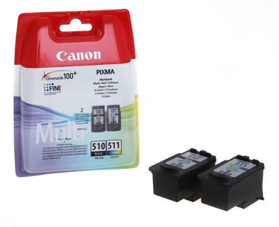 PG510/CL511 Tintapatron multipack Pixma MP240 nyomtatóhoz, CANON b+c, 220+240 oldal