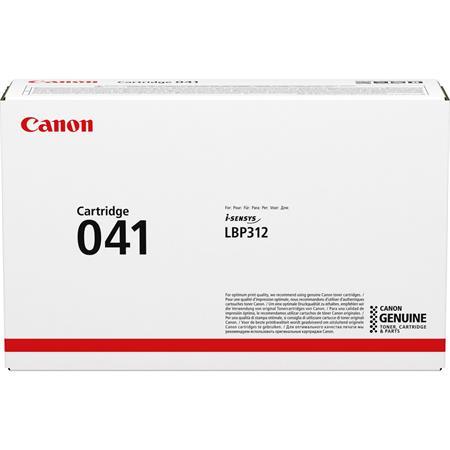 CRG-041 Lézertoner  i-SENSYS LBP312x nyomtatóhoz, CANON, fekete, 10k