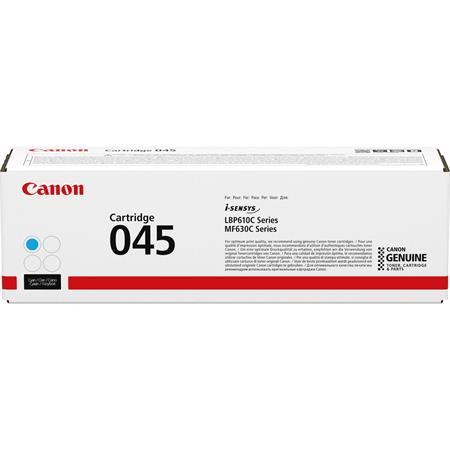 CRG-045 Lézertoner i-SENSYS LBP613Cdw, LBP611Cn MF635Cx, MF633Cdw, MF631Cn nyomtatókhoz, CANON, cyan, 1,3k