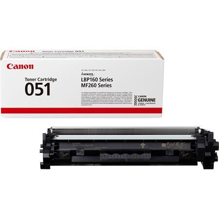 CRG-051 Lézertoner i-SENSYS LBP162dw, MF269dw, MF267dw, MF264dw nyomtatókhoz, CANON, fekete, 1,7k