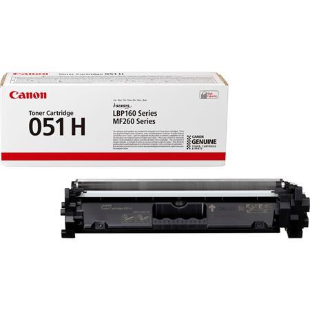 CRG-051H Lézertoner i-SENSYS LBP162dw, MF269dw, MF267dw, MF264dw nyomtatókhoz, CANON, fekete, 4,1k
