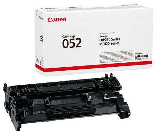 CRG-052 Lézertoner i-SENSYS MF421DW nyomtatóhoz, CANON, fekete, 3,1k
