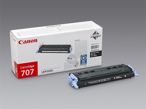 CRG-707B Lézertoner i-SENSYS LBP 5000, 5100 nyomtatókhoz, CANON fekete, 2,5k