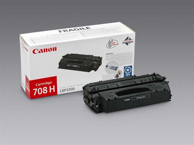 CRG-708H Lézertoner i-SENSYS LBP 3300, 3360 nyomtatókhoz, CANON fekete, 6k