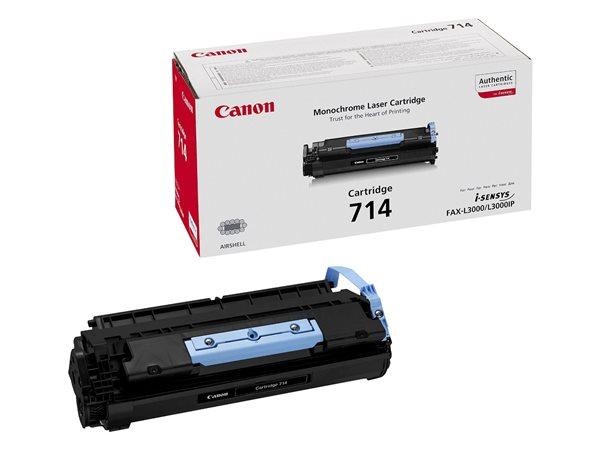 CRG-714 Lézertoner i-SENSYS fax L3000 nyomtatóhoz, CANON fekete , 4,5k