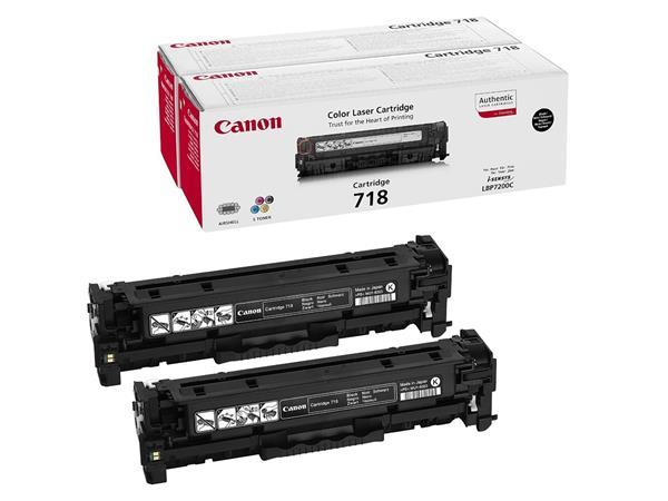 CRG-718B Lézertoner i-SENSYS LBP 7200CDN, MF 8330 nyomtatókhoz, CANON fekete, 2*3,4k