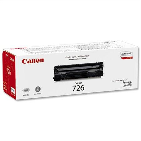 CRG-726 Lézertoner i-SENSYS LBP 6200D nyomtatóhoz, CANON fekete, 2,1k
