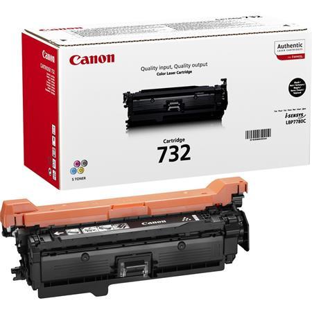 CRG-732 Lézertoner i-SENSYS LBP7780CX nyomtatóhoz, CANON, fekete, 6,1k