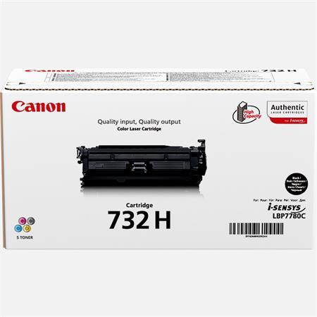CRG-732 Lézertoner i-SENSYS LBP7780CX nyomtatóhoz, CANON, fekete, 12k