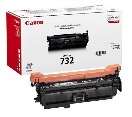 CRG-732 Lézertoner i-SENSYS LBP7780CX nyomtatóhoz, CANON, sárga, 6,4k