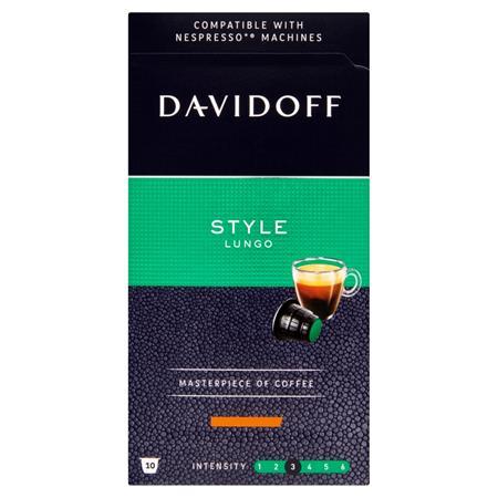 Kávékapszula, 10 db, DAVIDOFF
