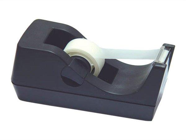 Ragasztószalag-adagoló, asztali, DONAU, fekete
