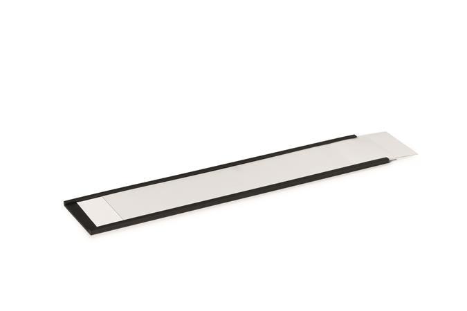 Ársín, 40 mm, mágneses, C-Profil, DURABLE, fekete