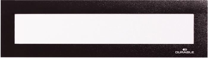 Bemutató fejléc, 323x66 mm, mágneses, DURABLE